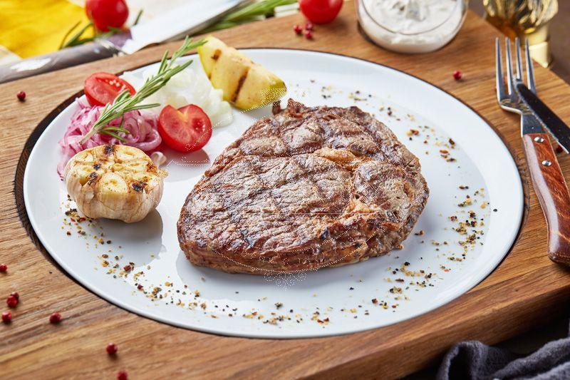 Ribeye steak herbal fattening