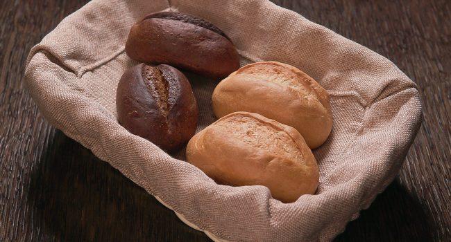 Хлебная булочка светлая
