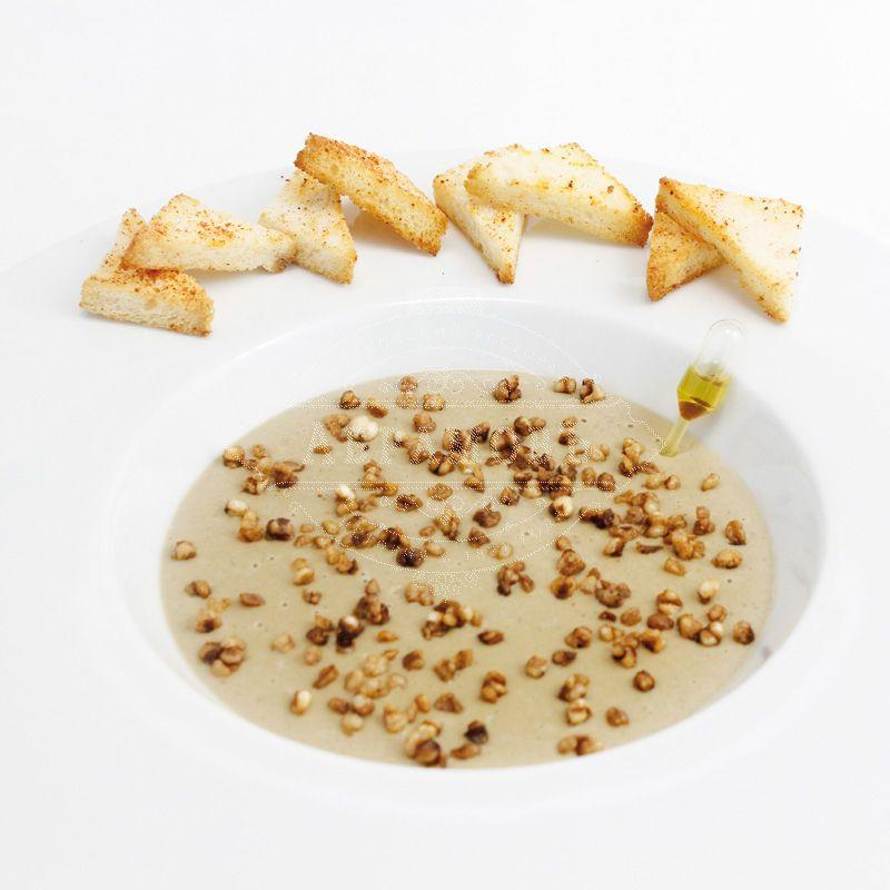 Cepe mushroom cream soup