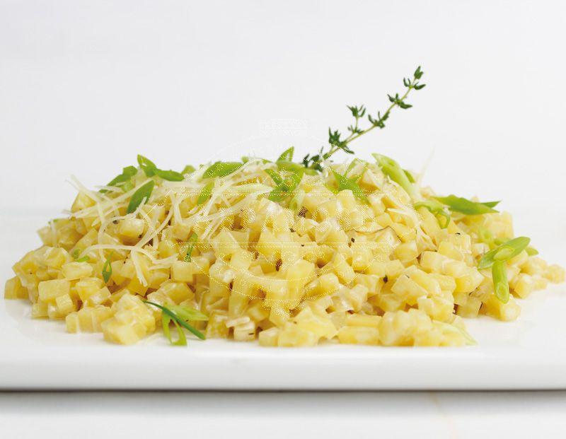 Potato risotto