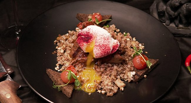 Daily braised shoulder with buckwheat razgulyay